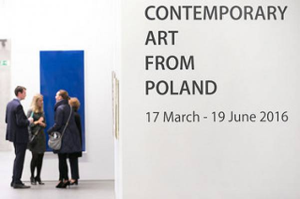 Contemporary art from Poland, exhibition view, European Central Bank, Frankfurt am Main, 2016