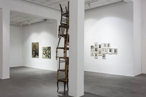 Ewa Juszkiewicz, The Descent Beckons, exhibition view, Bielska BWA Gallery, 2015