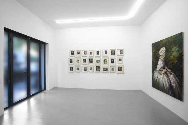 'Pearl, Eye, Worm', exhibition view, Galerie Rolando Anselmi, Rome