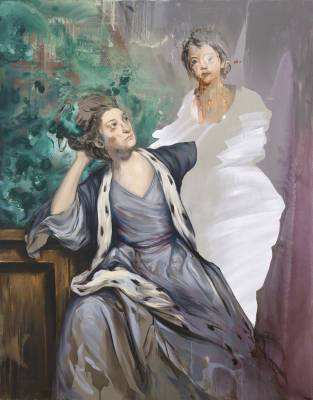 Untitled (after Sir Joshua Reynolds), 2015, oil on canvas, 160×125 cm